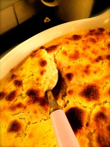 Light fluffy sponge with silky lemon sauce, serve hot from the oven for maximum pleasure!