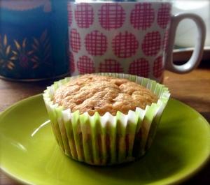 Dairy free banana mini muffins